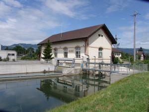 Kraftwerk Montlingen - liefert naturstrom Basic