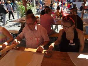 Wahlauftaktfeier CVP SG - CVP Spitzbuben backen